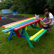 Kedel recycled plastic furniture ideal for schools